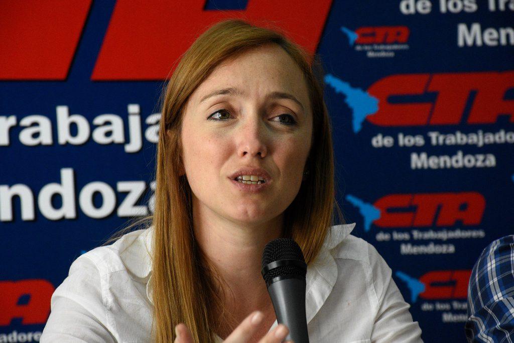 Anabel Fernández Sagasti, senadora del FPV.