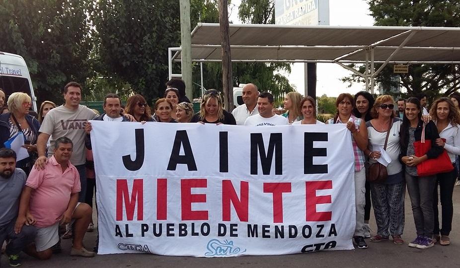 """Recientemente Correas acusó a los docentes de generar y reproducir """"violencia simbólica"""". """"Jaime miente"""", le respondieron desde el SUTE."""