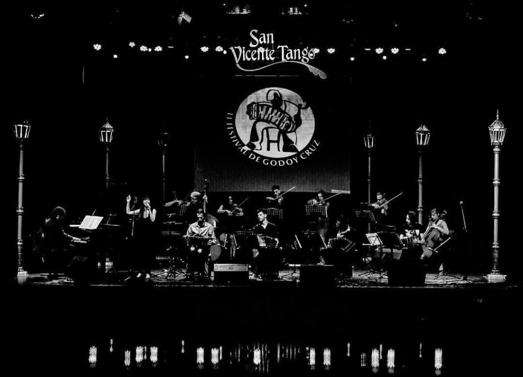 Última presentación de la Orquesta Típica Julián Peralta en Mendoza - 7/10/16