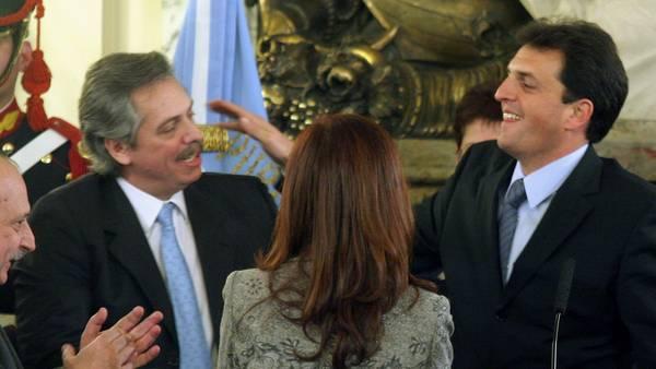 Julio de 2008: Massa reemplaza a Alberto Fernández en la Jefatura de Gabinete