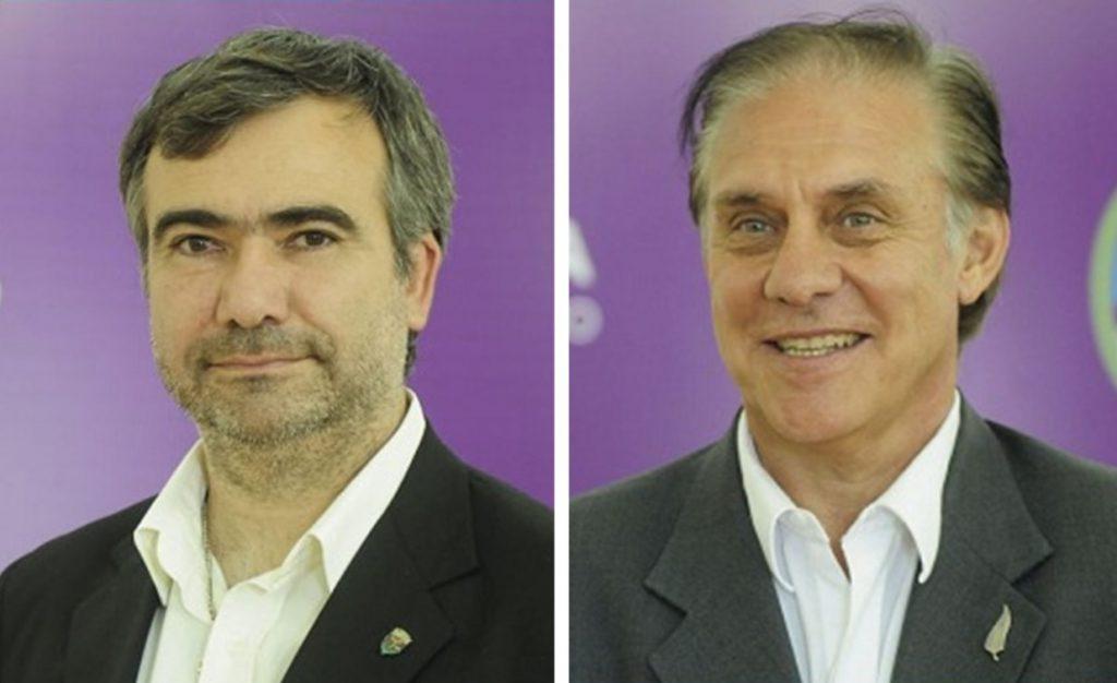 Américo y Capone.