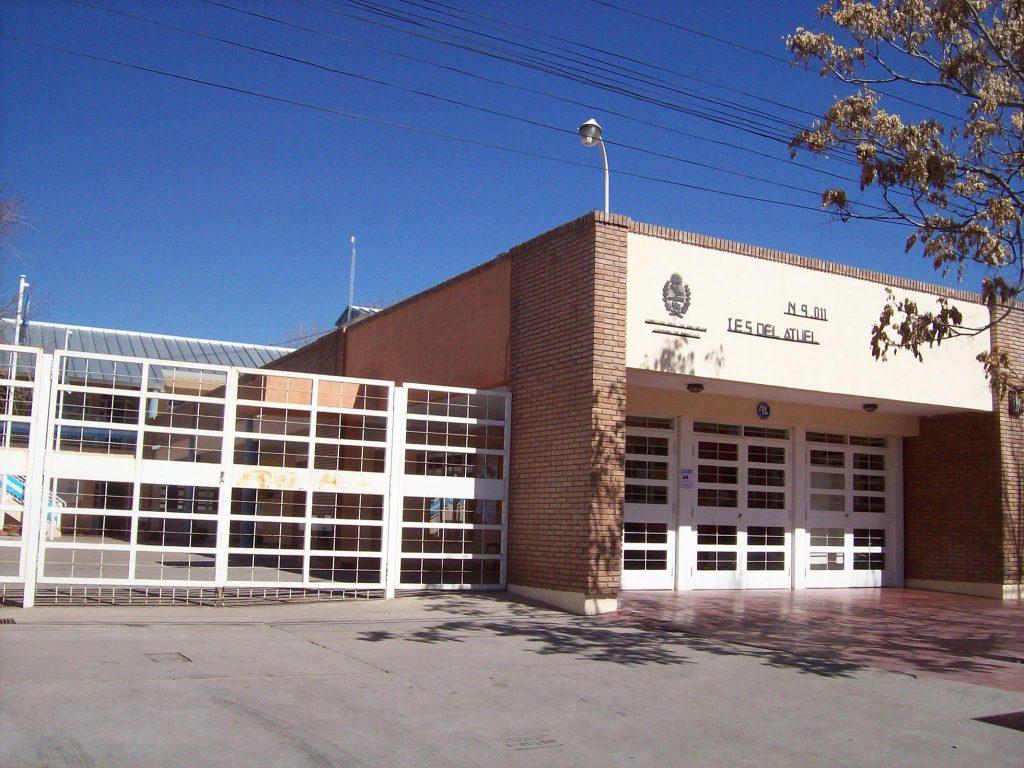 Edificio del IES N° 9-011 de San Rafael, donde funciona la Sede Sur.